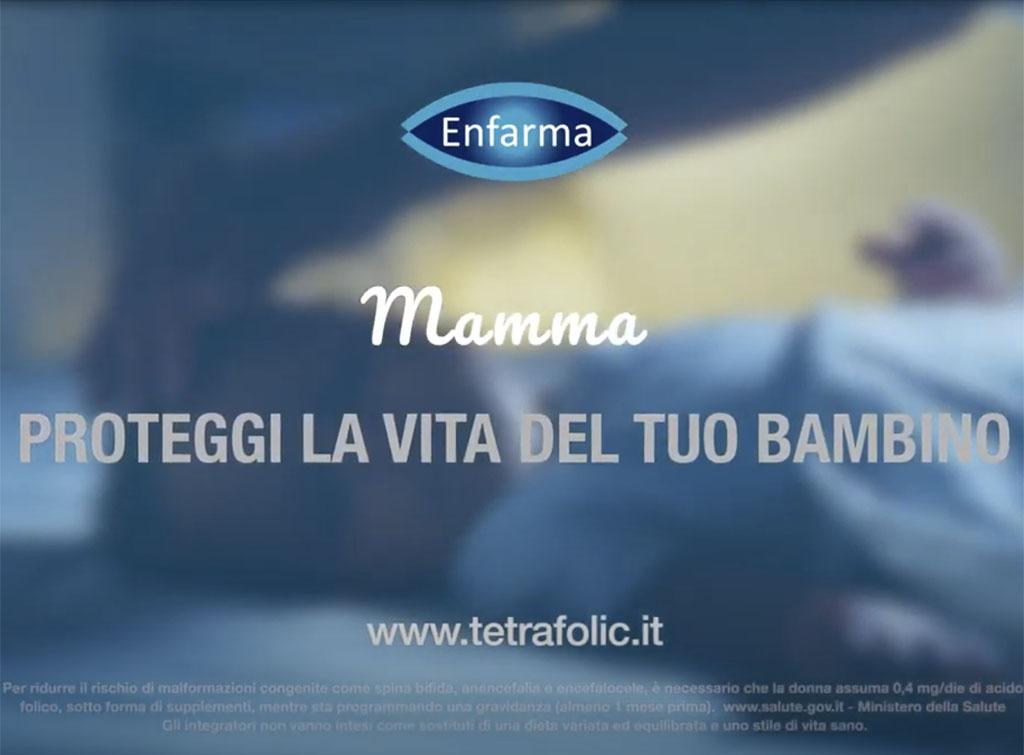Europe Media Spot Pubblicitario Canali TV per Enfarma