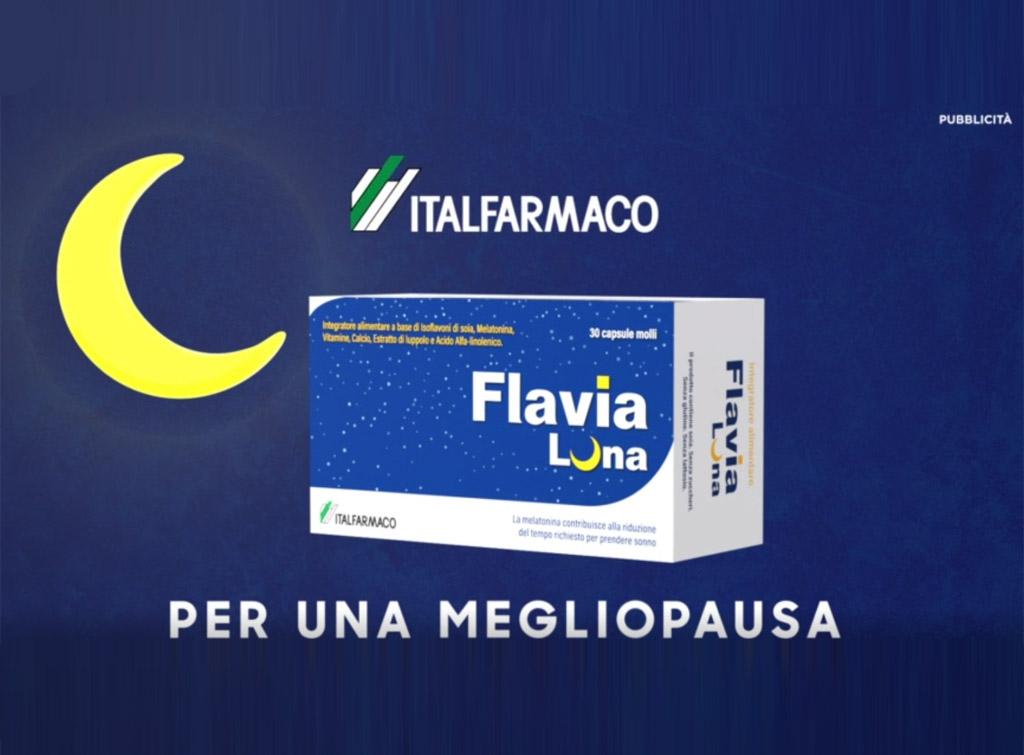 """Italfarmaco spot """"flavia luna"""" sui canali Mediaset e Discovery con Europe Media"""