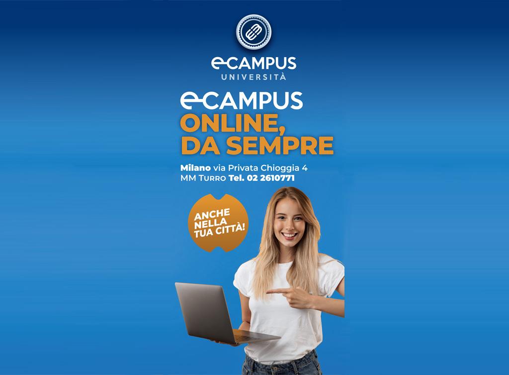 Europe Media pubblicità Università Telematica E-Campus