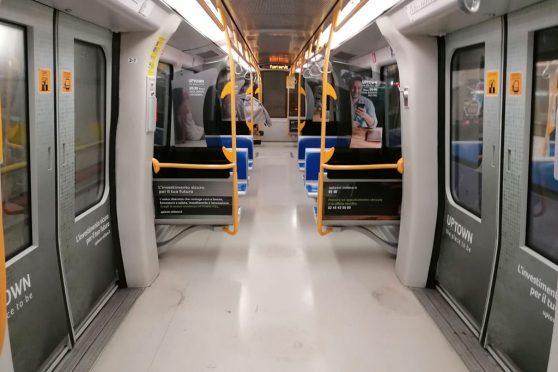 Europe media impianti Pubblicitari Linea 5 Metro Milano