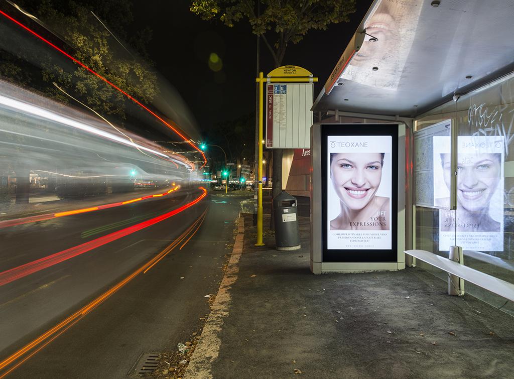 Europe Media impianti pubblicitari Arredo Urbano Pensiline Bus Digitali Roma